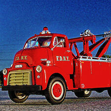 RARE - NEW YORK FIRE DEPARTMENT FDNY 1952 GMC CABOVER WRECKER - First Gear TOW