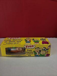 New In Package Pebbles Cereal Premium Flintstones FRED Vinyl Figure
