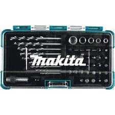 Makita Tool HSS Drill Bit Holder Screwdriver Socket Magnetic Set 48 Pc B-36192