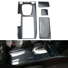 For Honda Accord 08-12 Carbon Fiber ABS Console Gear Shift Box Cover Panel Trim