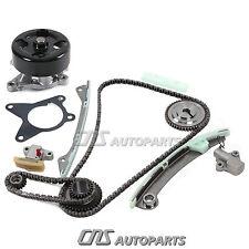 Fits 07-09 Nissan 1.8L 2.0L MR18DE MR20DE NEW Timing Chain Kit + Water Pump Set