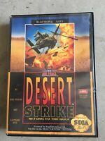 Desert Strike: Return To The Gulf With Case (Sega Genesis, 1992)