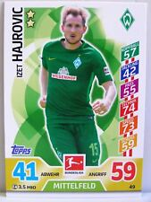 Match Attax 2017/18 Bundesliga - #049 Izet Hajrovic - SV Werder Bremen