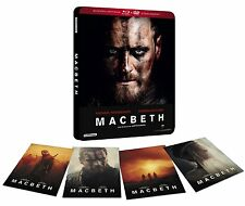 MACBETH BLURAY STEELBOOK CAJA METALICA + DVD + 4 POSTERS NUEVO ( SIN ABRIR )