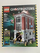 LEGO 75827 Ghostbuster Firehouse Headquarters Brand New Sealed Rare Free AU Post