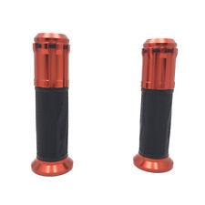 "7/8"" Dark Orange ""s"" Rubber Handbar Grip For Kawasaki Z1000 Z750 ER-6F VN series"