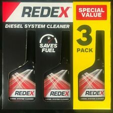 3 x pack of 250ml Redex Diesel Treatment Fuel System Cleaner