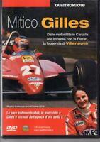 DVD=MITICO GILLES=LA LEGGENDA DI VILLENEUVE=QUATTRORUOTE 2007