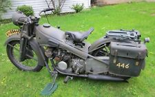 Victoria 1934 Kr8 Military Motorcycle Nuremberg German