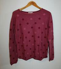 Pullover CECIL Damen Gr. S Beetroot Pink Melange (F896-R28)