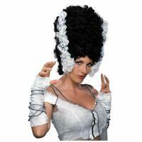 Funkenstein Adult Wig Tall Black Funky Frankenstein Black Beehive Wig