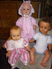 *Konvolut* 3 alte Puppen aus den 50er Jahren für Sammler oder Flohmarkt