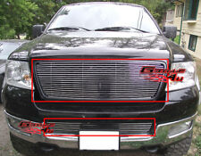 Fits 2004-2005 Ford F-150 Honeycomb Style Billet Grille Combo Insert