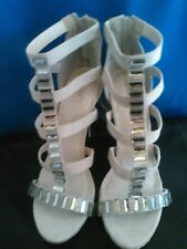 new Forever 21 strappy high heels Gray 9