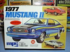 MPC 1977 FORD MUSTANG II ANNUAL 3in1 #1-7713 AMT 77 1/25 MINT UNBUILT MODEL KIT
