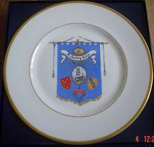 Edwardian Fine Bone China Large Masonic Plate ST AUDREY LODGE NO 2727 #2