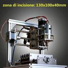DIY 3 Axis CNC Micro-Engraving Machine PCB Milling Wood Carving Router Kit US