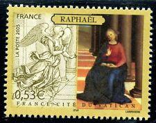 STAMP / TIMBRE FRANCE  N° 3838 ** ART / L'ANNONCIATION / RAPHAEL