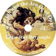 Tarzan and the Jewels of Opar, Audiobook by Edgar Rice Burroughs on 1 MP3 CD