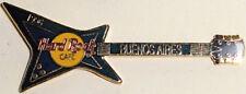 Hard Rock Cafe BUENOS AIRES 1996 Black & Purple Explorer GUITAR PIN - HRC #1402