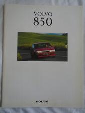 Volvo 850 range brochure 1993 v2