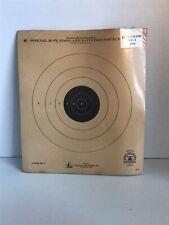 NOS (12) Vintage 1950s NRA Pistol Target