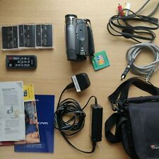 Sony Handycam DCR-HC24E Camcorder - With Extras
