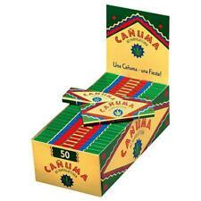 Box Canuma Zigarettenpapier - Blättchen Hanfblättchen  (50er/60 Blatt)