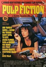 Signed Collectible    PULP FICTION   Poster