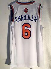 Adidas Swingman NBA Jersey Knicks Tyson Chandler White sz M