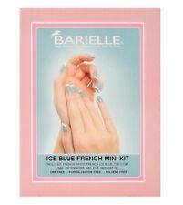 Barielle Ice Blue Mini French Tip Manicure & Pedicure Mini Tool Kit