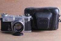 Kiev-4M & helios 103 Copy of Contax Vintage 35mm Soviet rangefinder film Camera