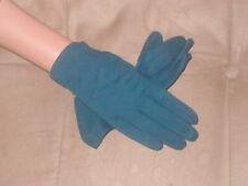 Vintage 1950's 100% Cotton Navy Blue Dress Gloves by MaxMayer