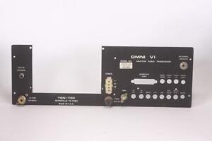 Ten Tec Omni VI Rear Panel