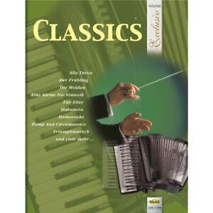 Classics * Holzschuh Exclusiv * Noten Akkordeon * Neu * Klassik