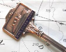 Old White Star Line RMS Queen Mary SMALTO pennant Spoon