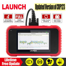 LAUNCH OBD2 Scan Tool Car OBD Scanner CRP123E Check Engine ABS SRS Transmission