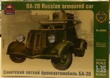 Ark 1/35 Russian BA-20 Armoured Car Model Kit 35004