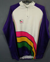 RARE VINTAGE MEN'S CAMPAGNOLO ITALY CYCLING BICYCLE SHIRT JERSEY MAGLIA SIZE L 4