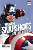 CAPTAIN AMERICA MARVELS SNAPSHOT #1 CVR A ALEX ROSS 2020 MARVEL COMICS 6/24 NM