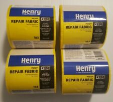 4 Henry 183 Roof Repair Fabric 4x150 Yellow Flexible Reinforcing Glass Fabric