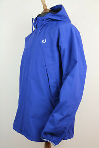 Fred Perry Panelled Zip Through Hooded Jacket  Size  L RRP £160