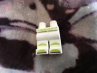 Lego minifigure legs toy story buzz lightyear legs only