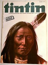 Journal Tintin BD Comics Magazine Hebdo No 16 36e 1981 Poster Indiens