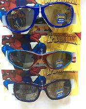 Boys Girls SPIDER MAN Red UV Sunglasses Child Kid Marvel 3 Pairs!!!