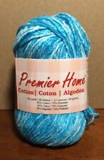 1 Skein - Premier Yarns- Premier Home Cotton Yarn - Ocean Splash - 2.1 Oz