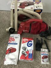 Dirt Devil Handheld Vacuum Cleaner Model DD120 w/ Accessories Tested Works