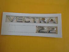 Schriftzug Emblem VECTRA 2.2  chrom Vectra B ORIGINAL OPEL 177222