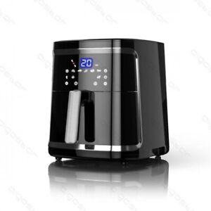 Friggitrice ad Aria 7 Litri Frigge Cuoce arrosto Touch Screen Per Fritti 5 in 1