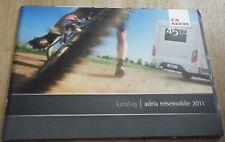 Adria Range Motorhome Brochure - 2010 2011  Reisemobil Wohnwagen Camping Car